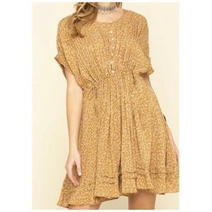 Free People One Fine Day Dress S NWT